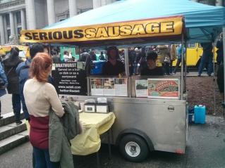 Serious sausage is serious