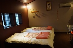 Japanese-style futons