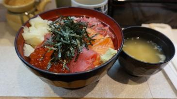 salmon tuna don