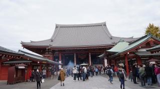 Main temple hall