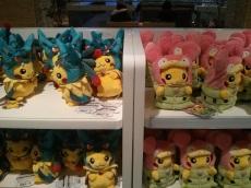 Pikachu in costumes